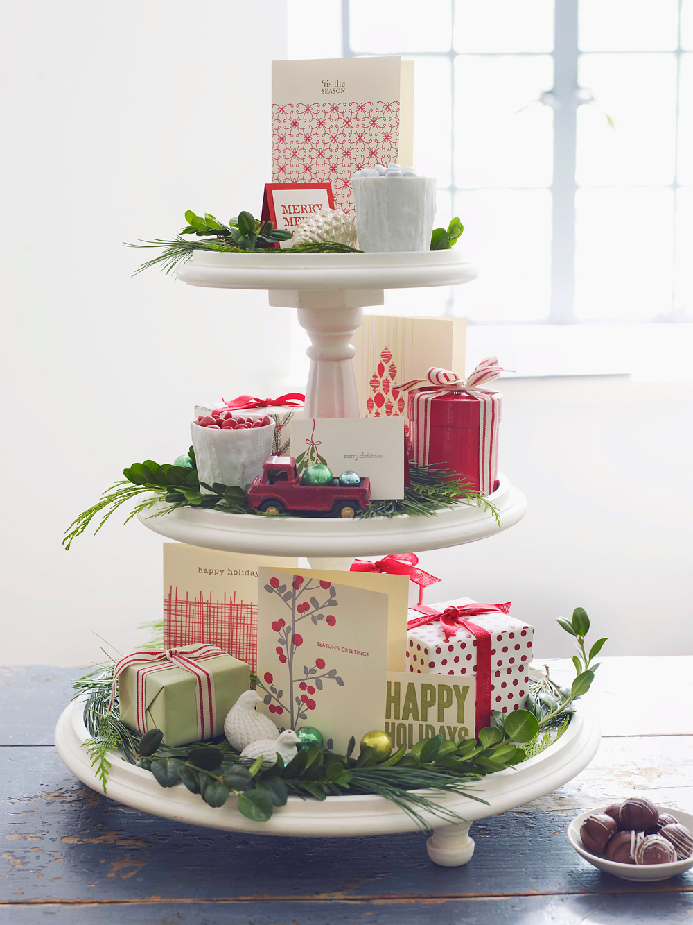 Holiday tiers