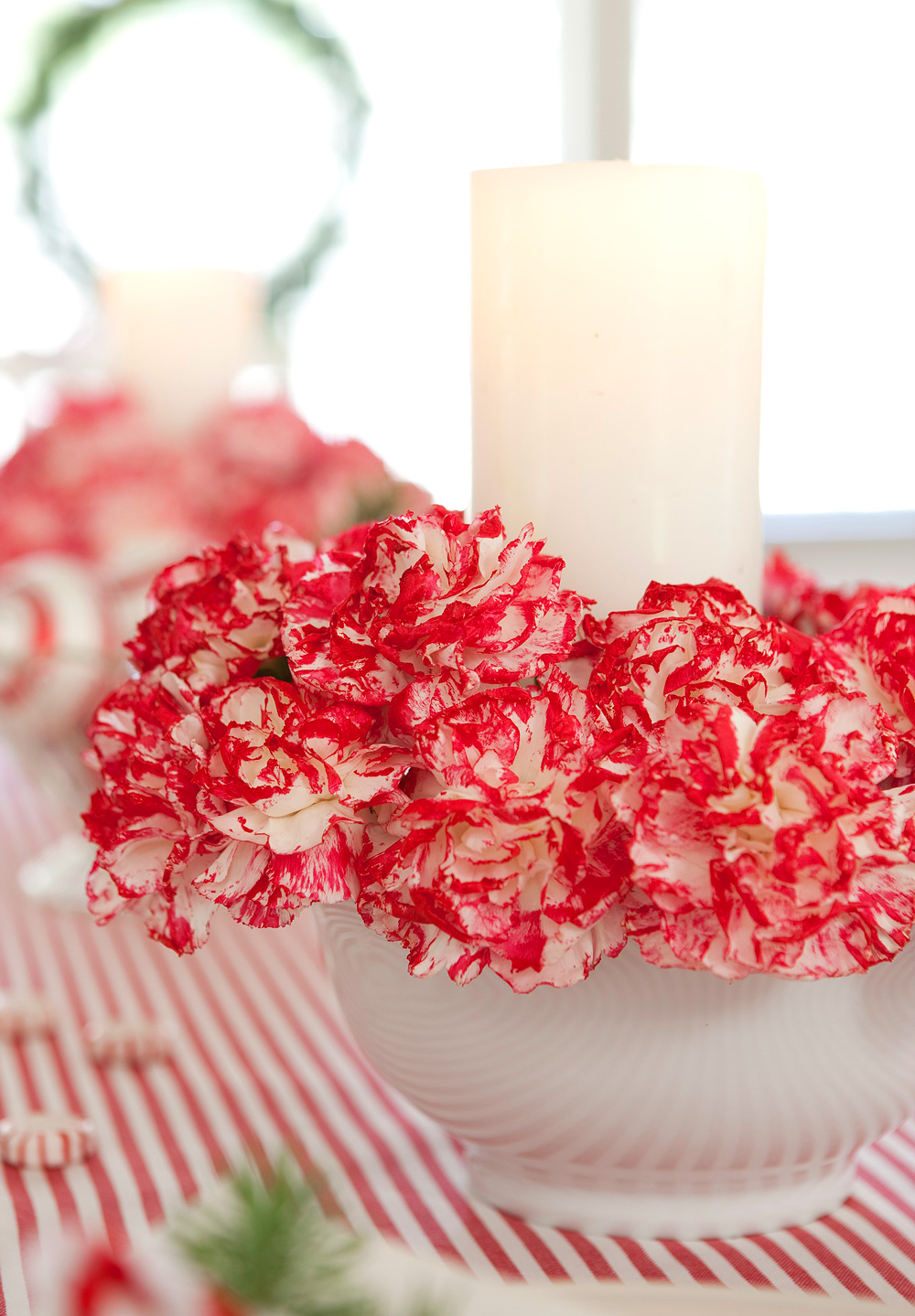 Carnation candles