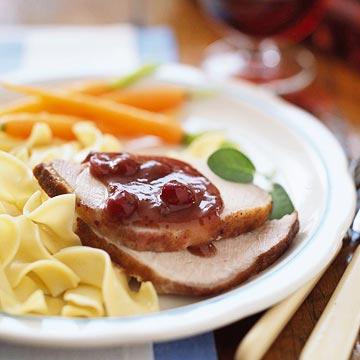 Menu #3: Slow cooker pork dinner