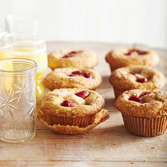 Sour-Cream Raspberry Muffins