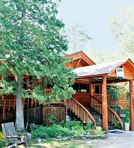 Burntside Lodge.
