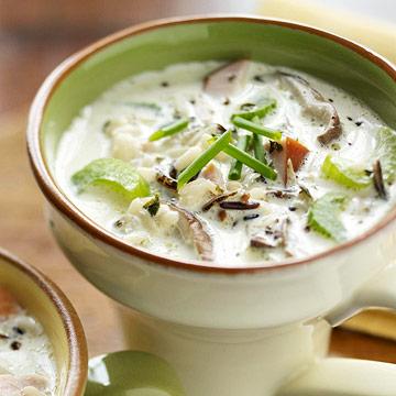 Wild Rice & Turkey Soup