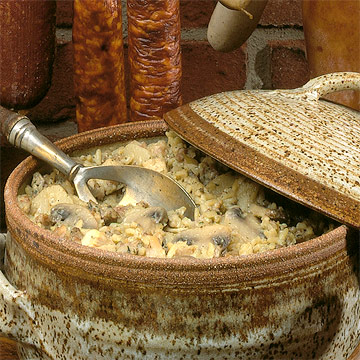 Sausage-Wild Rice Casserole