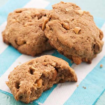 Peanut Butter Apple Cookies