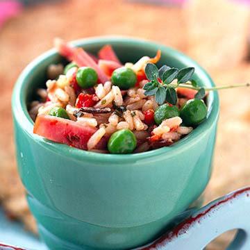 New Ham and Rice Salad