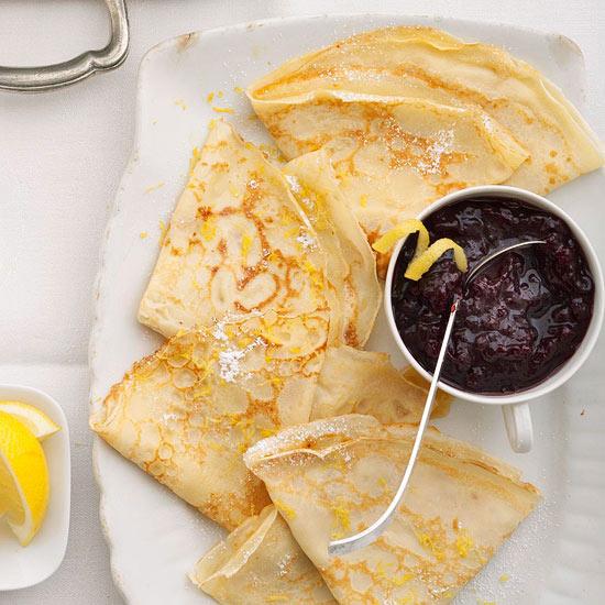 Swedish Lemon Pancakes