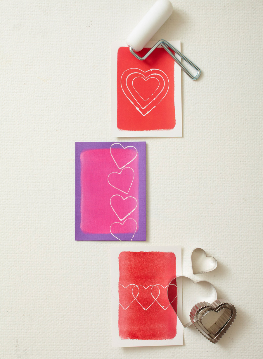 DIY cookie cutter cards