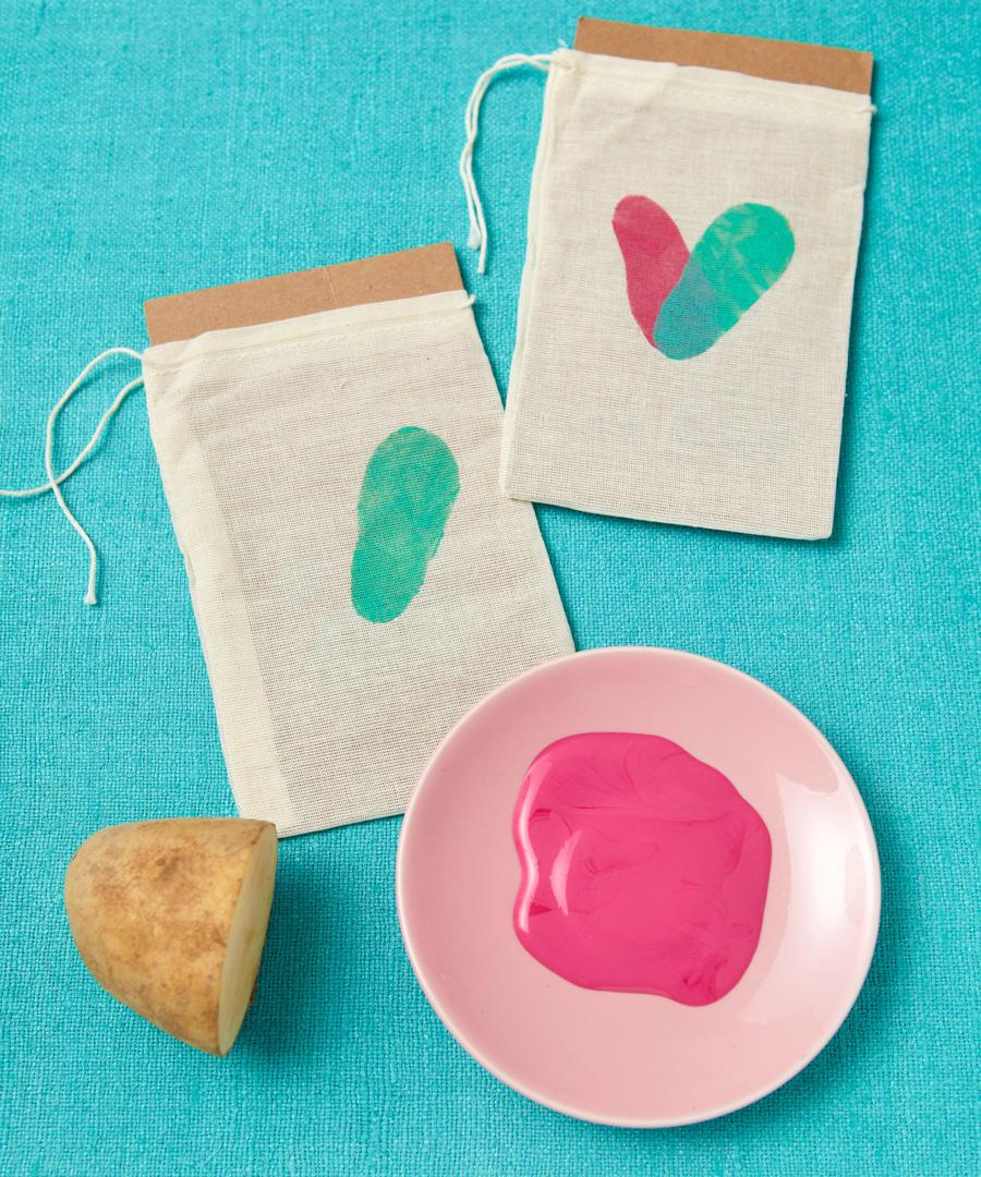 Valentine's treat bag