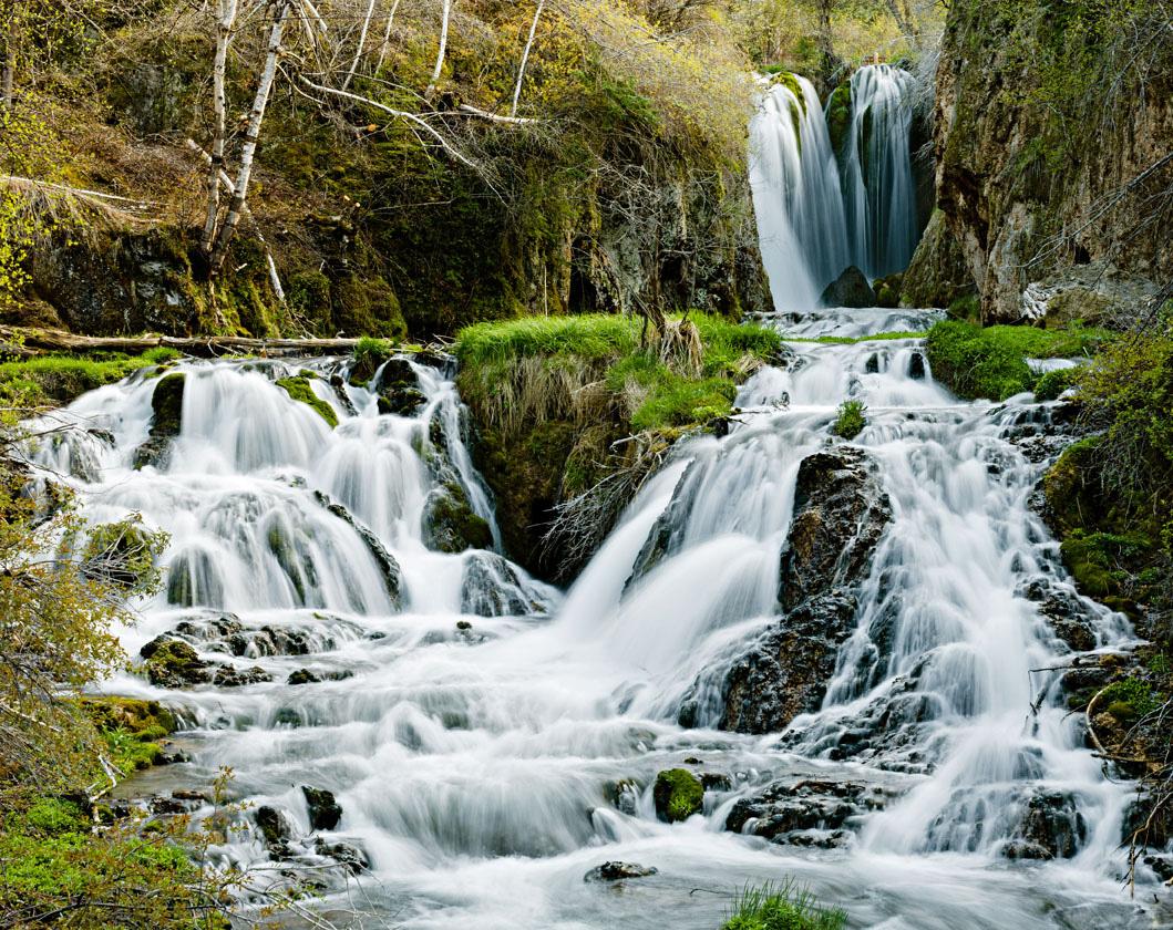 Roughlock Falls at Spearfish Canyon