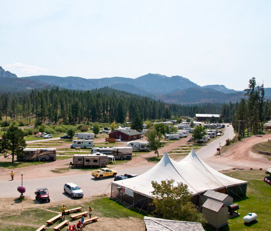 Hill City, South Dakota: Mount Rushmore KOA/Palmer Gulch Resort