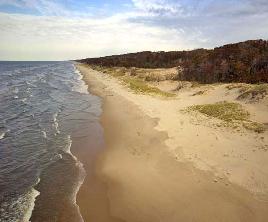 Norton Shores, Michigan: P.J. Hoffmaster State Park Campground