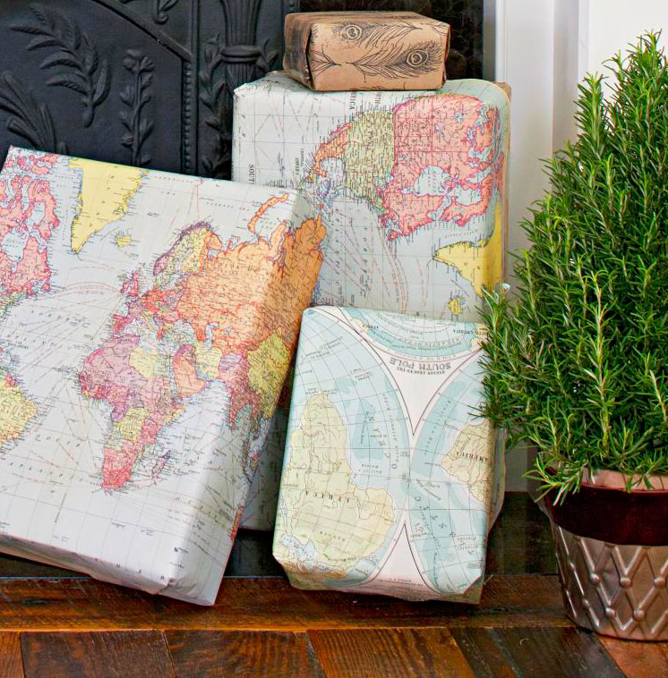 Wrap with maps