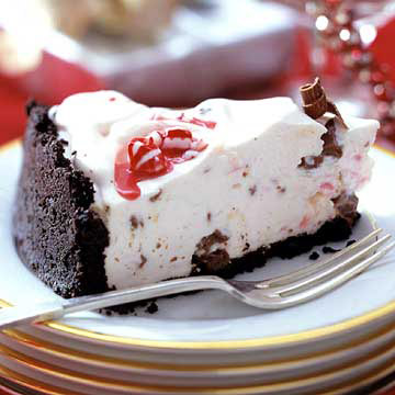 Peppermint-Chocolate Cheesecake