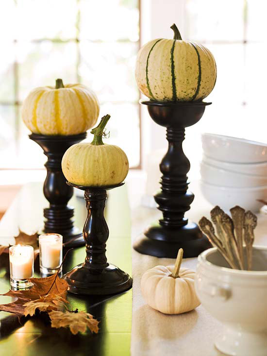 Creative candleholders