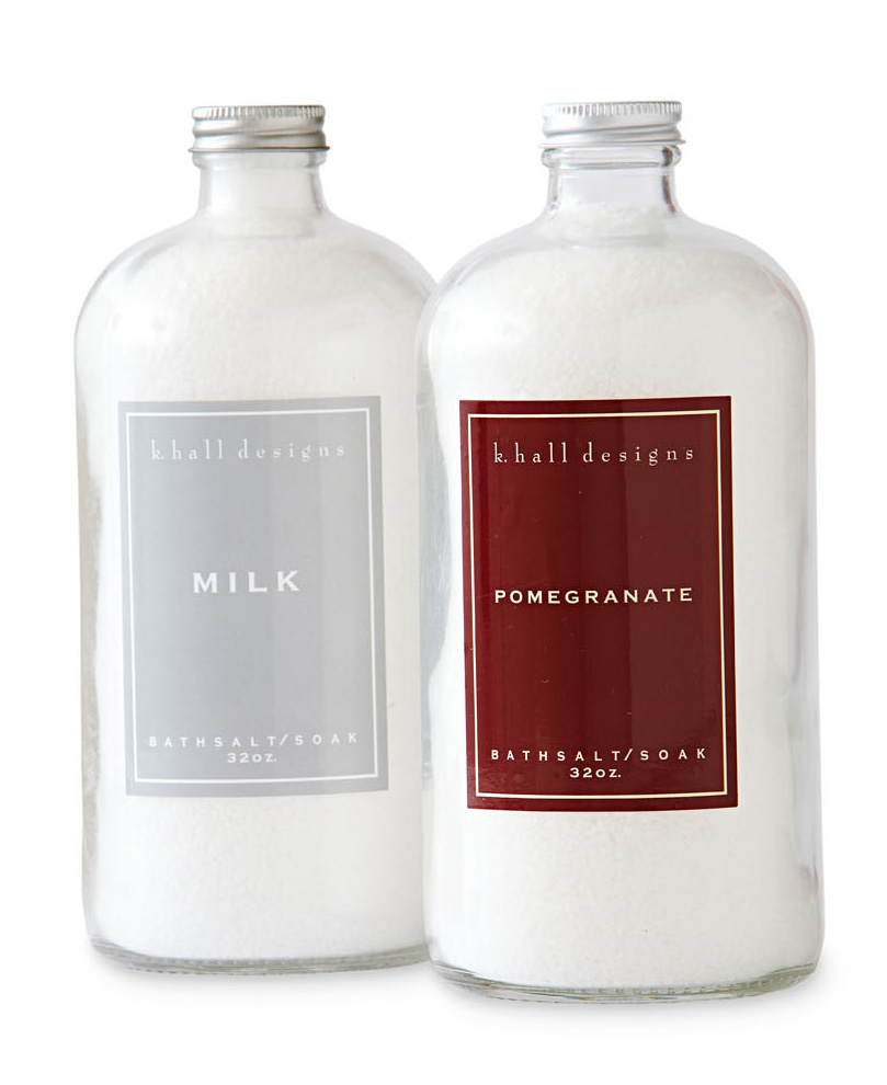 K. Hall Designs bath salts