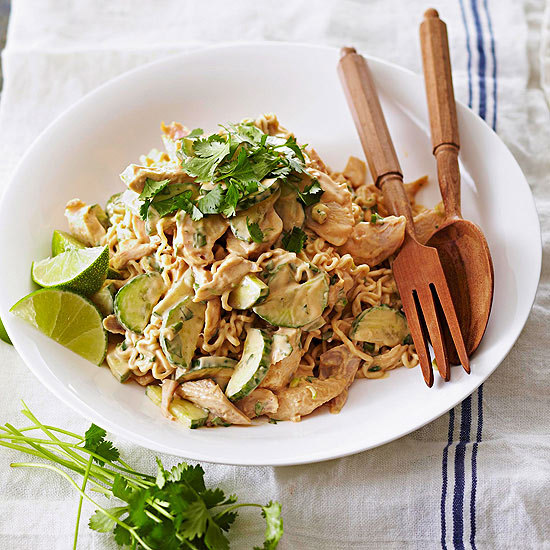 Thai Chicken-Noodle Salad