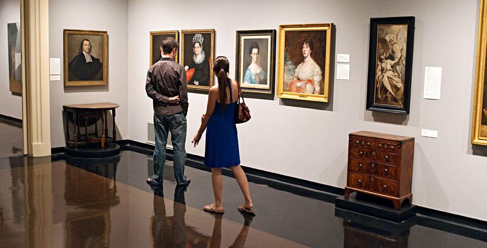 The Spencer Museum of Art in Lawrence, Kansas.