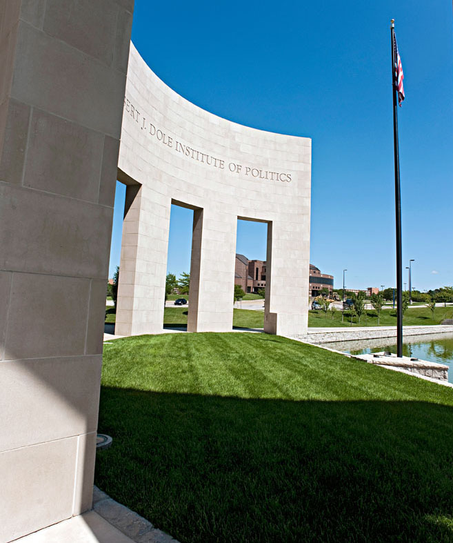 The Robert J. Dole Institute of Politics in Lawrence, Kansas.