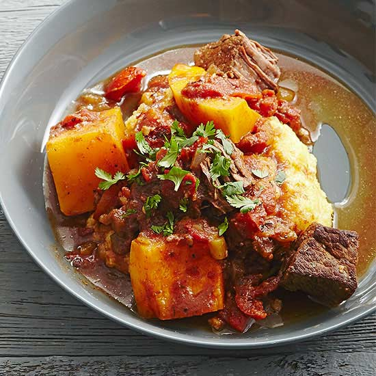 Texas Beef with Butternut Squash