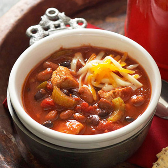 Warm-Me-Up Chicken Chili