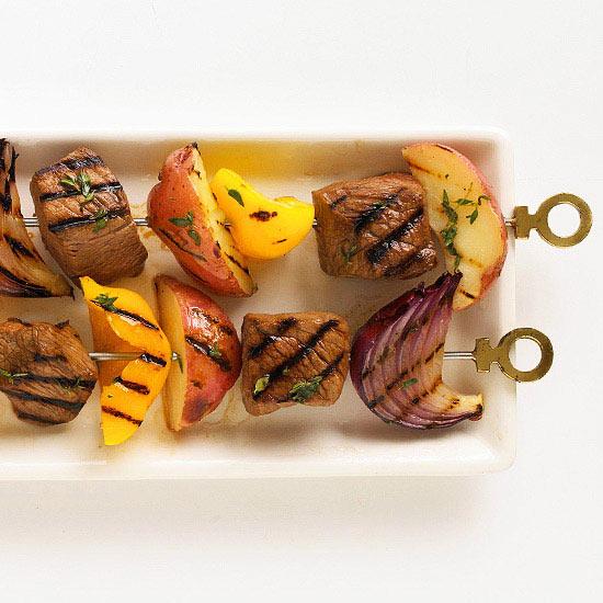 Steak and Potato Kabobs