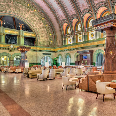 St. Louis Union Station Hotel lobby