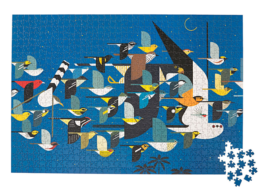 Charley Harper jigsaw puzzles