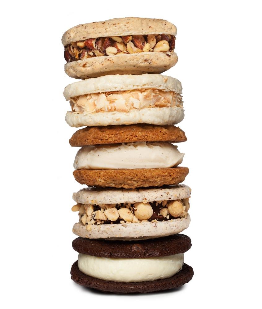 Jeni's Splendid Ice Creams sandwiches