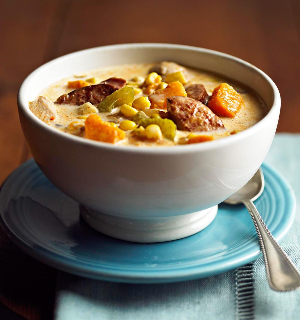 Sweet Potato-Corn Chowder