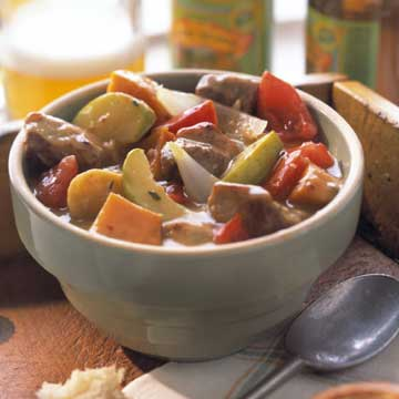 Hearty Pork-and-Ale Stew