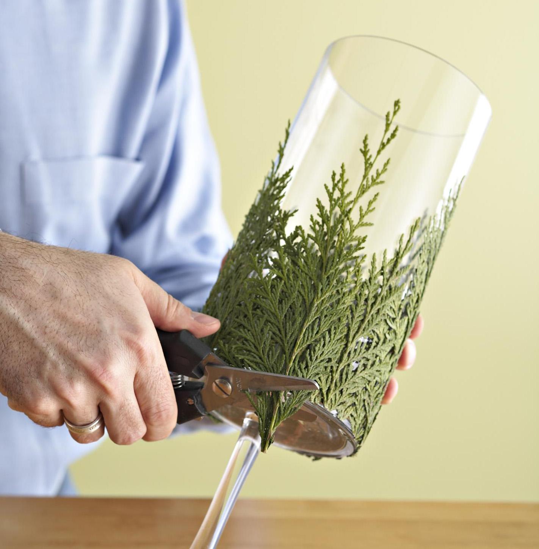 Step 3: Trim greenery