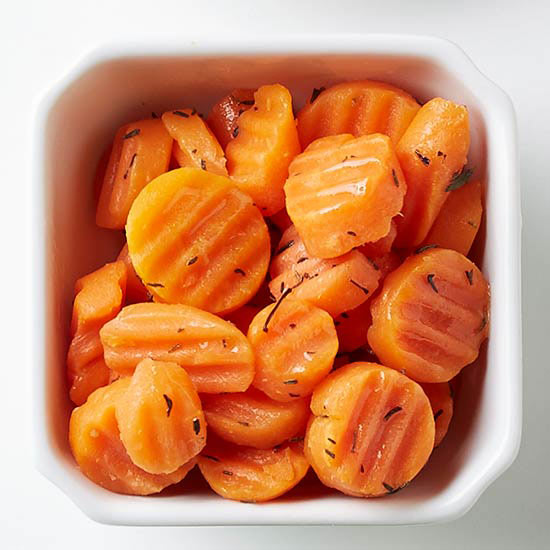 Maple-Thyme Carrots