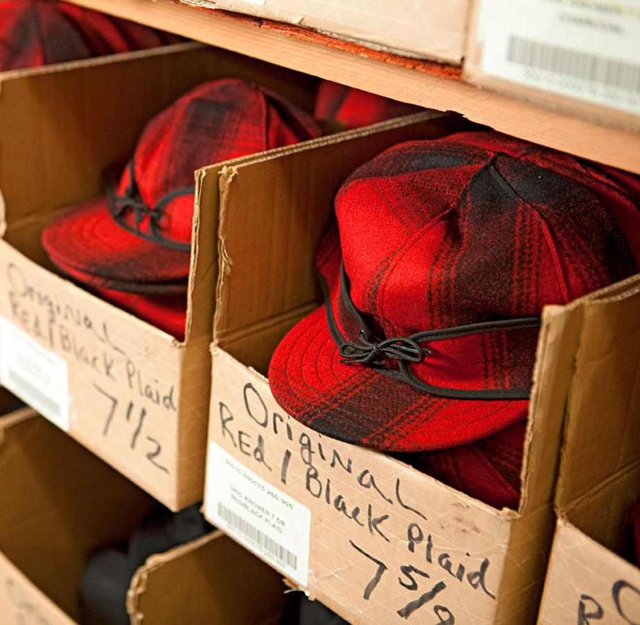 Stormy Kromer hats.
