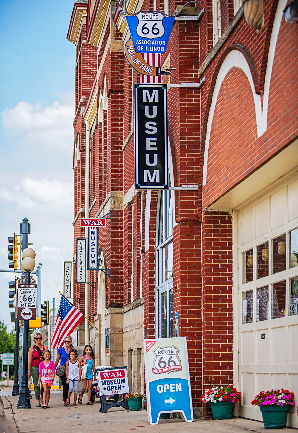 Pontiac, Illinois: Route 66 Hall of Fame and Museum