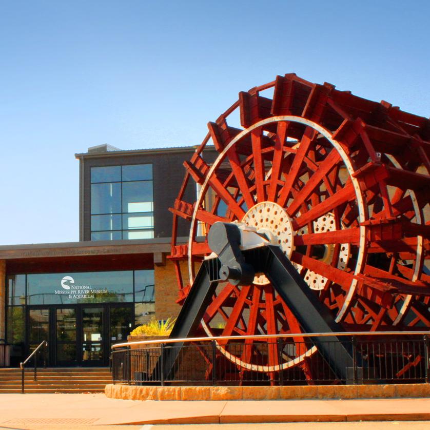 Dubuque, Iowa: National Mississippi River Museum and Aquarium