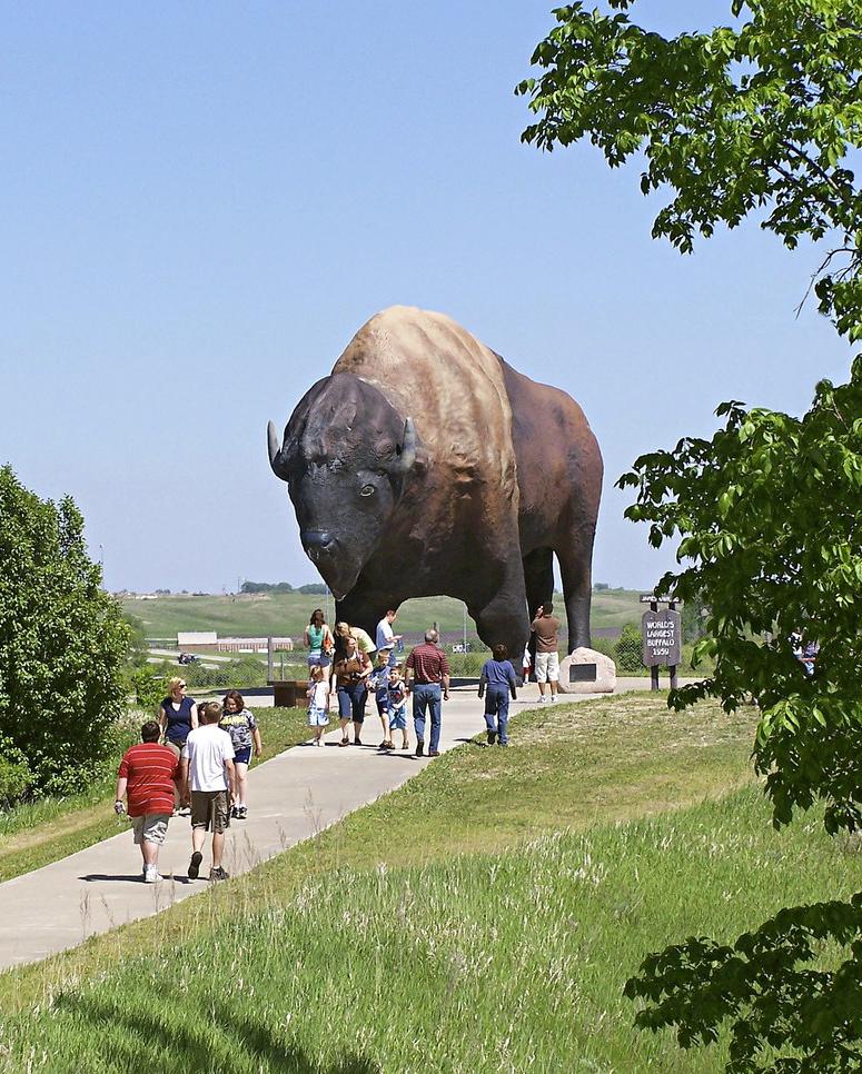 Jamestown, North Dakota: National Buffalo Museum