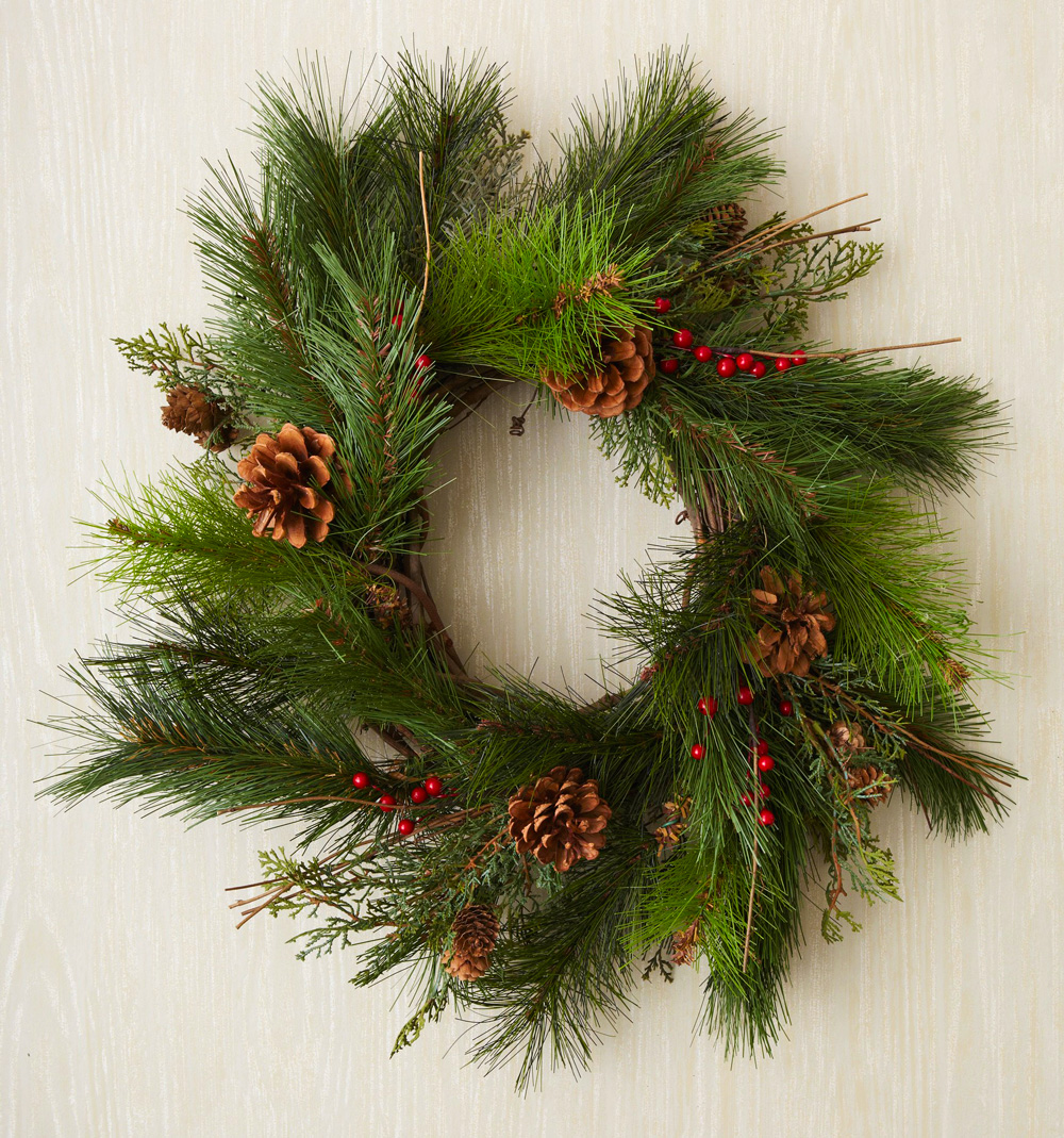 Step 3: Fill out wreath