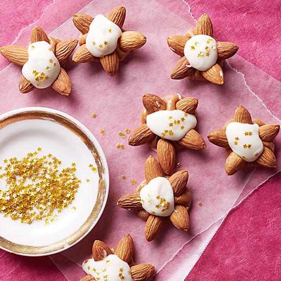 Caramel Almond Stars