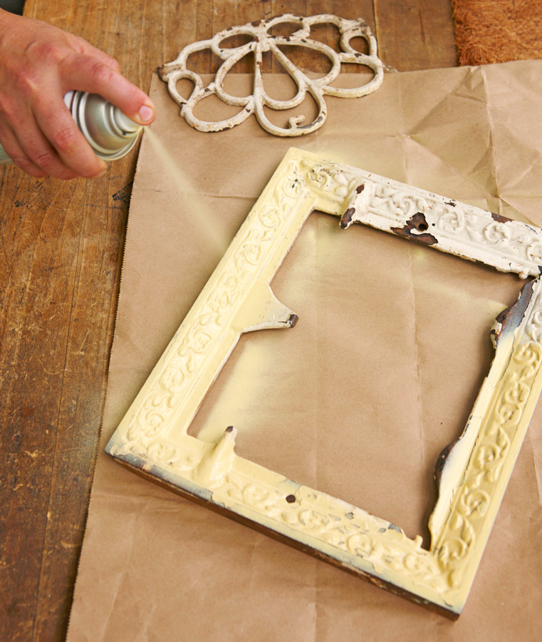 Step 2: Paint the vent or frame