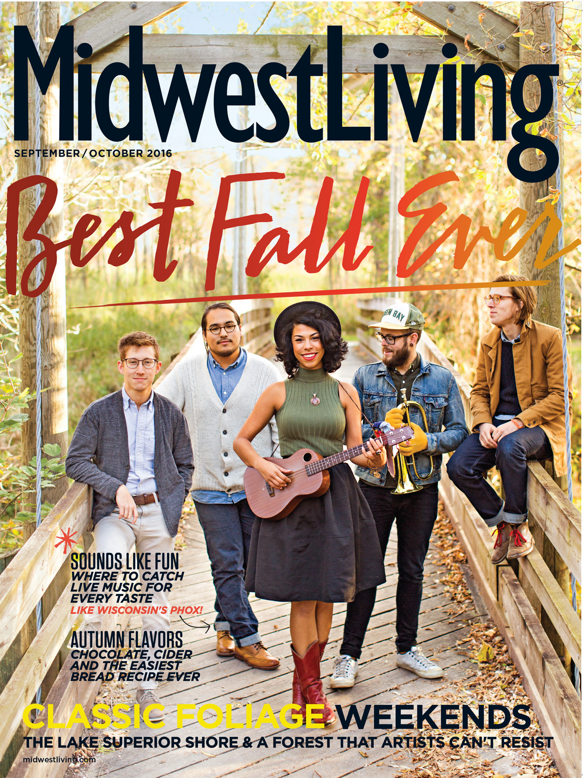 Midwest Living September October 2016 Cover