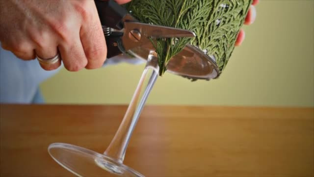 "How To: Create a ""Flames of Green"" Candle Holder"