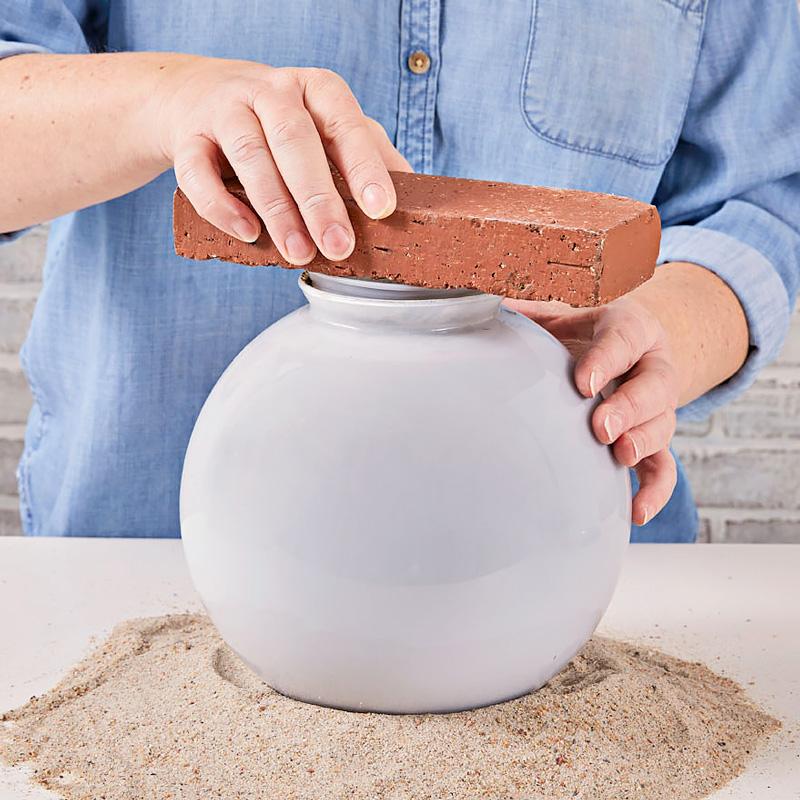 Step 5: Set concrete