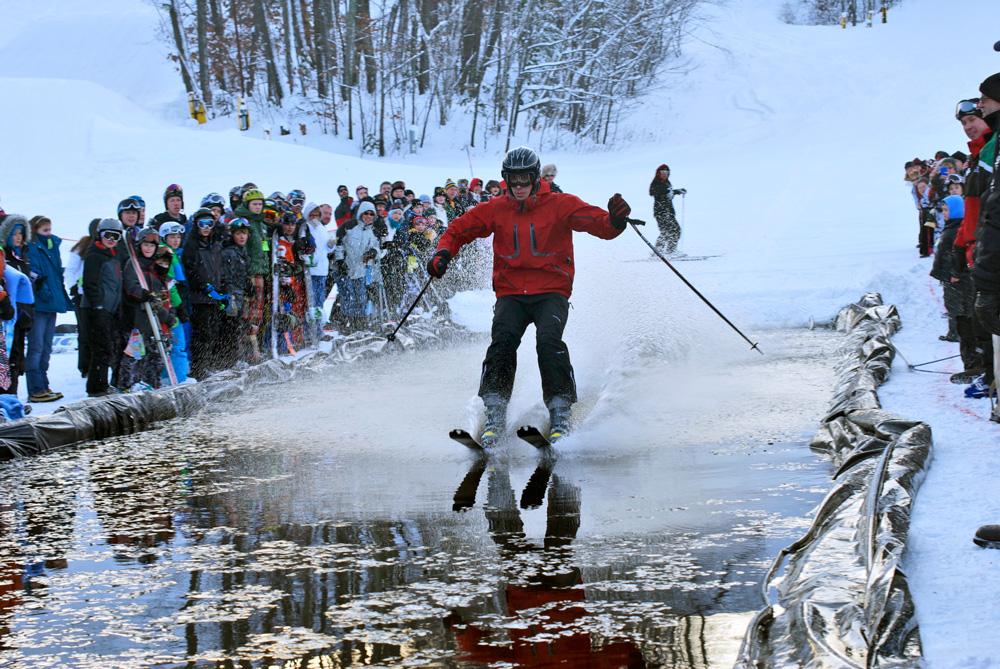 Ski Across the Water