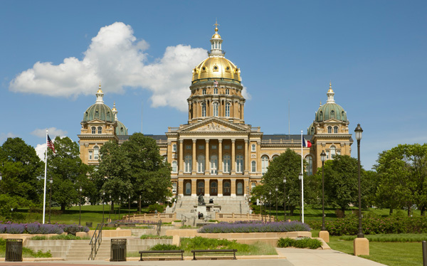 State Capitol in Des Moines