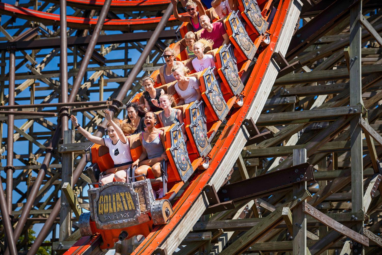 Six Flags Great America, Gurnee. Photo: Courtesy of IOT