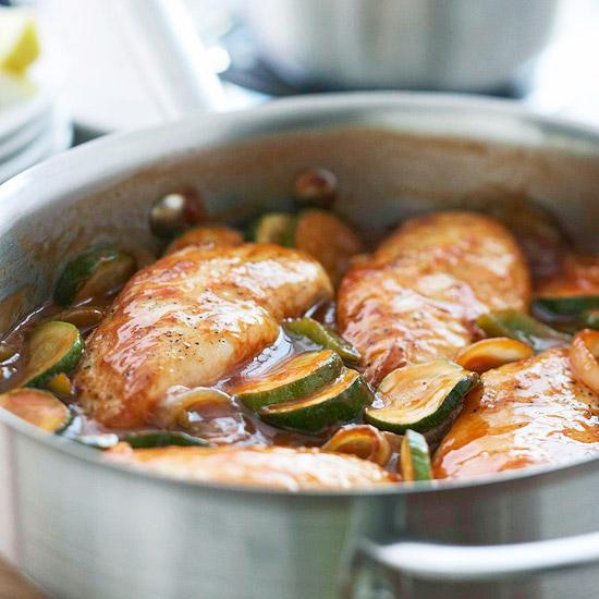 Greek-Style Chicken Skillet
