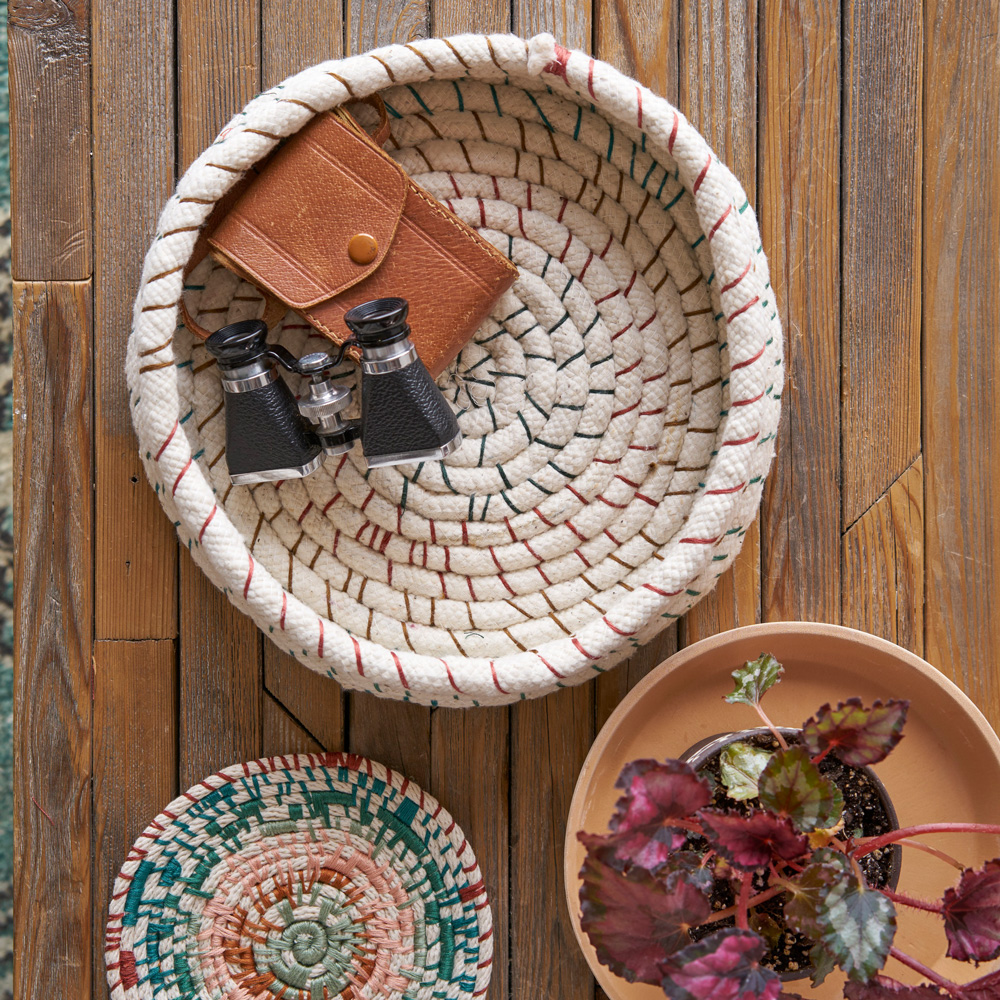 How To Make an Upholstery Cord Basket