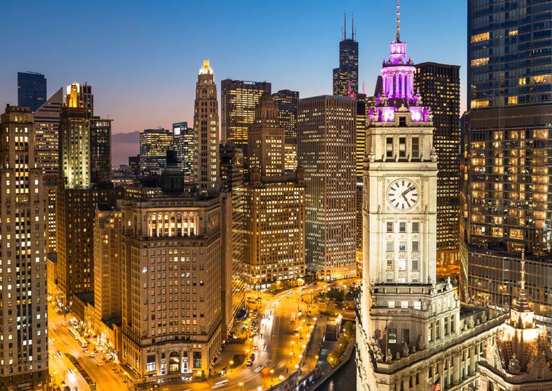Wrigley Building, Chicago. Photo: Nick Ulivieri/Courtesy of IOT