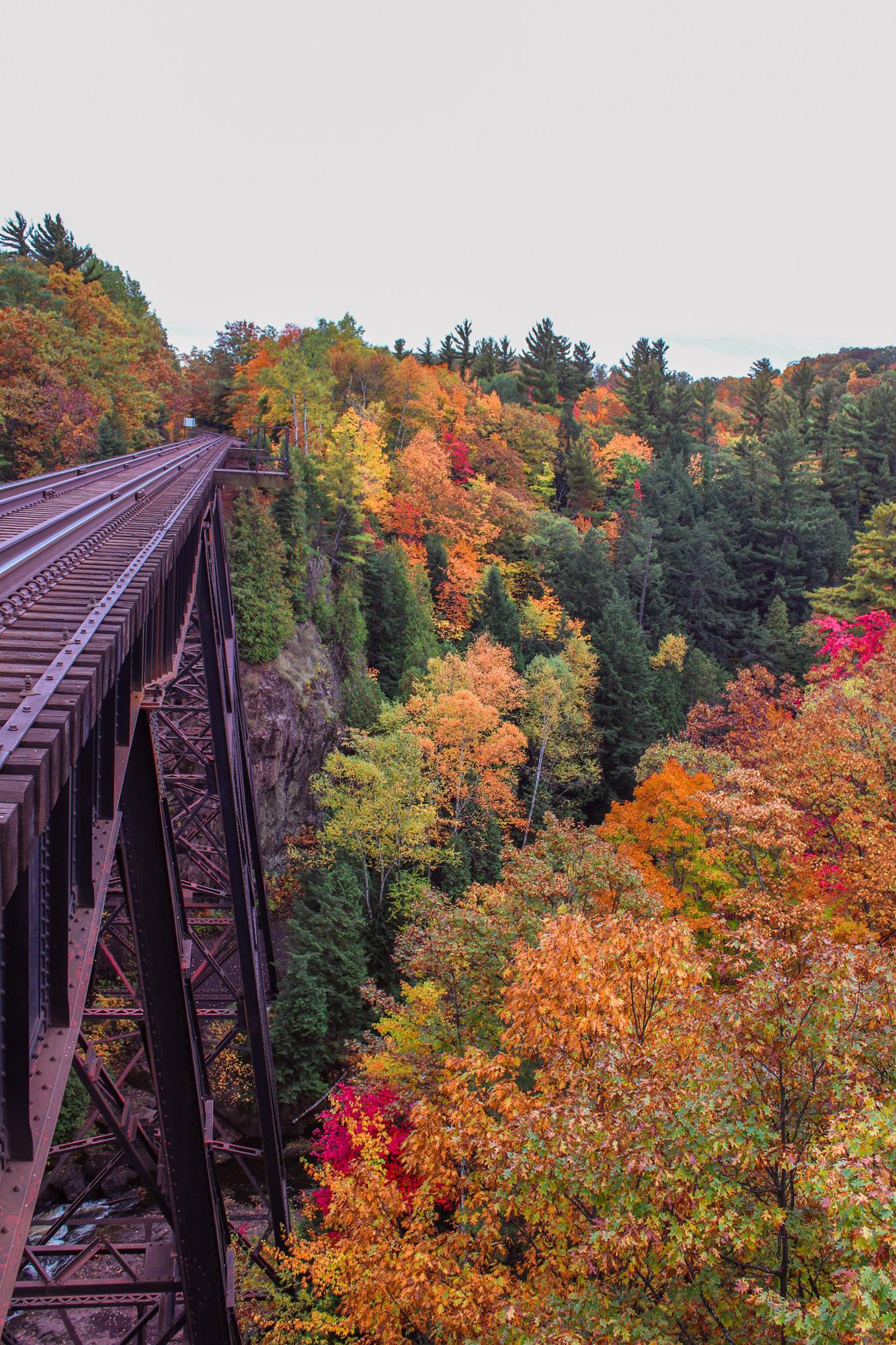 Dead River Railroad Bridge