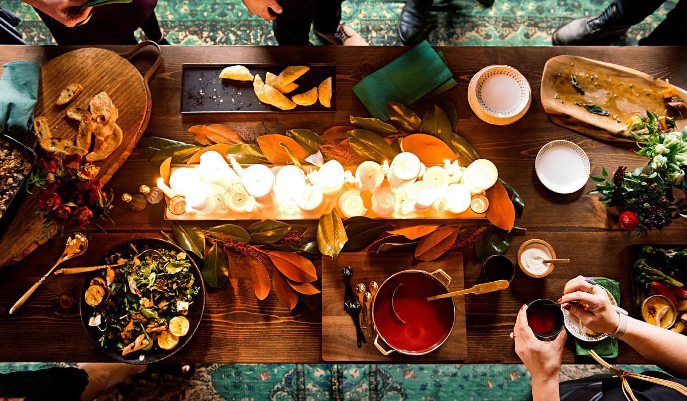 Appetizer spread